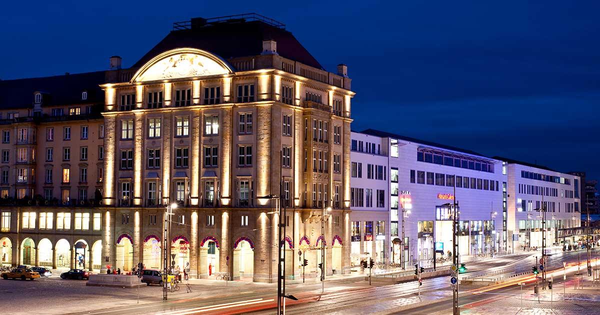 Das Dresdner Boulevardtheater Zu Besuch