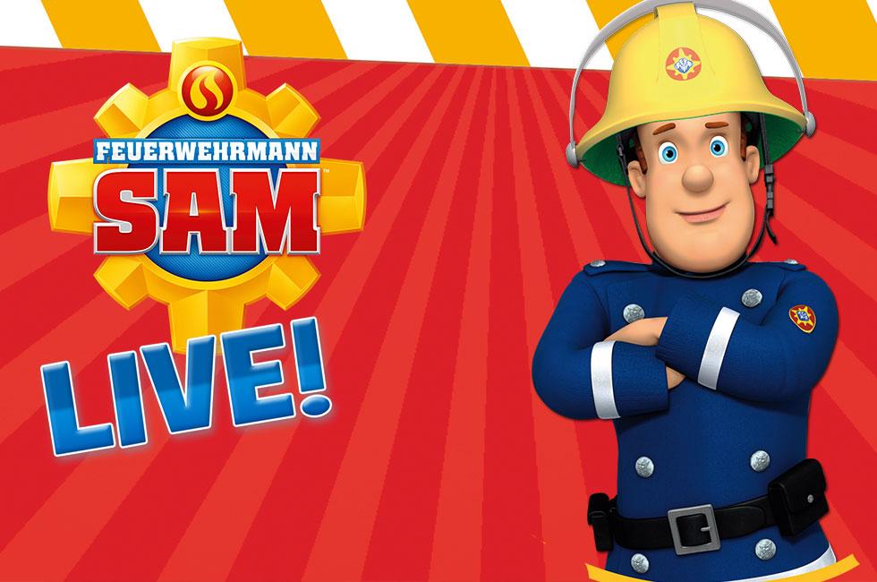 Feuerwehrmann Sam Tour 2021